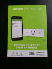 Wemo Mini Smart Plug Brand New 13 km