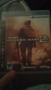 Ps3 modern worfare 2 Red Deer, T4N 5A2