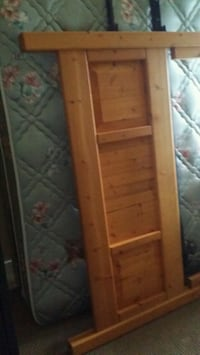 Queen mattress boxspring headboard and frame Surrey, V3W 9P1