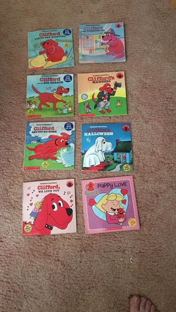 assorted learning books collection