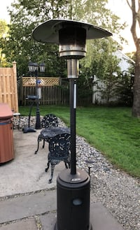 Outdoor Propane heater w cover