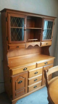 brown wooden dresser with mirror East Gwillimbury, L0G 1R0