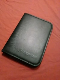 Leather Snap on day binder
