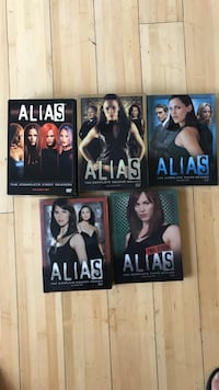 Alias complete 5 season collection  Los Angeles, 90027