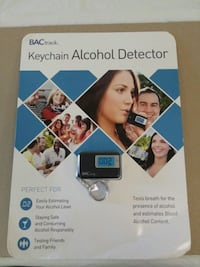 Keychain alcohol detector  Irving, 75061
