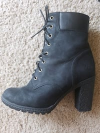 Black Heeled Timberland Boots Lincoln, 68512