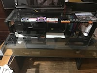 2-layer computer glass table