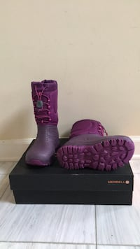 Merrell Girls Snow Boots Size 13 Annandale, 22003