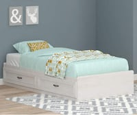 NEW Captain's Bed w/ Double Drawers and Mattress Auburndale