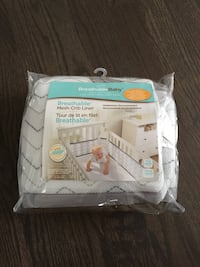 Breathable Baby mesh crib bumpers
