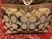Coach cosmetic bag brand new with coach paper bag  548 km