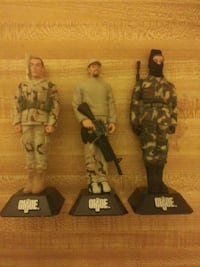 LOT OF 3 - G.I.JOE PENS