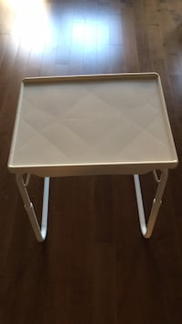 white and gray folding table Anaheim, 92806