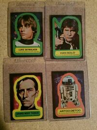1977 Star Wars 20th century Topps collectible card