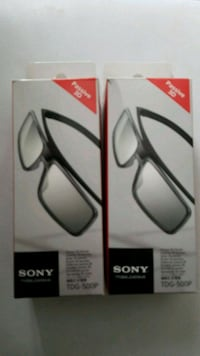 2 Sony passive 3D glasses new.  Toronto, M1B 5X1