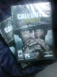 PC GAMERS: CALL OF DUTY WW2 (PC ONLY) SEALED Inglewood, 90303