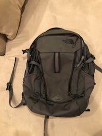 Gray The North Face Backpack