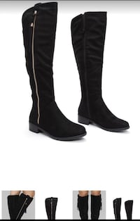 Fashion Nova black  boots Goodyear, 85338