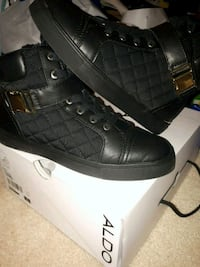 Brand new Never worn aldo quilted high tops