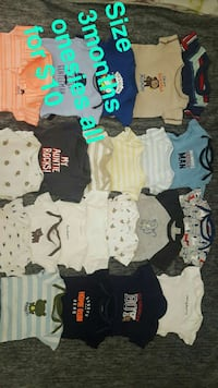 baby's assorted clothes Newman, 95360