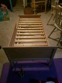 white and brown wooden bed frame 3160 km
