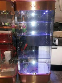 7 ft tall glass display case Clifton, 07014