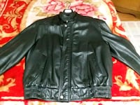 black leather zip-up jacket Toronto, M1K 4W5