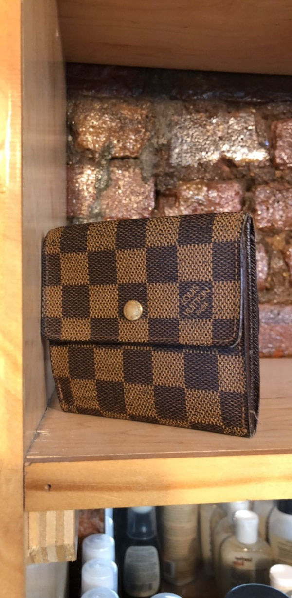 15155573fb575b Used Damier Ebene Louis Vuitton wallet for sale in New York - letgo