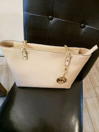 white Michael Kors leather tote bag Murfreesboro