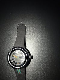 round black analog watch with black strap Oxon Hill, 20745