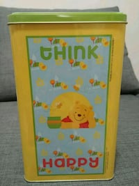 Winnie the pooh tin box with towel brand new Calgary, T3G 2R2