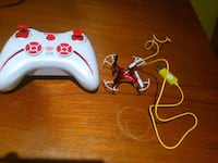 white and red quadcopter with remote Toronto, M2J 2G1
