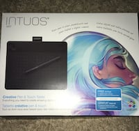 black Intuos pen & touch tablet pad box Kouts, 46347