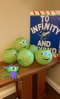Toy story Buzz lightyear party decorations