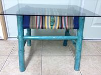 Bamboo refinished/refurbished small table *** Langley, V3A 3E9