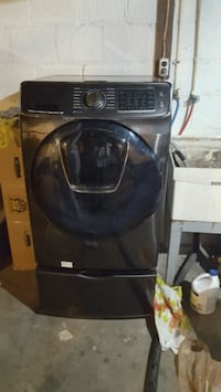 black and gray front load washing machine Ellwood City, 16117