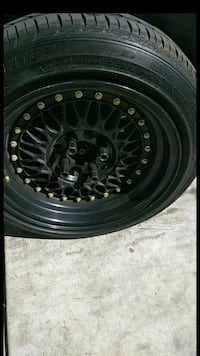 black and gray car wheel Bakersfield, 93308