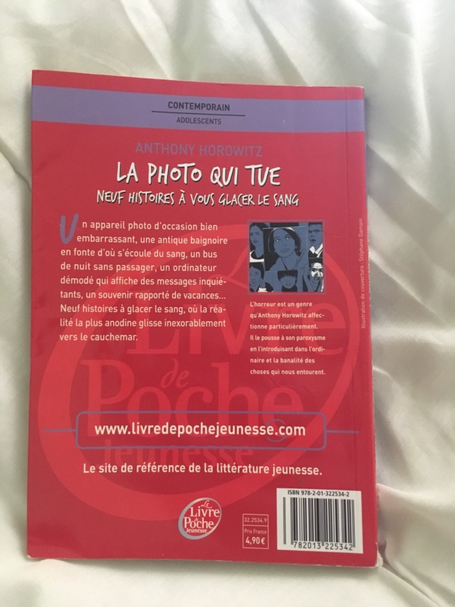 La photo qui tue de Anthony Horowitz - Butry-sur-oise