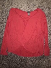 Rue21 Red blouse Odenton, 21113