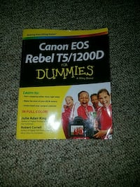 Canon rebel T5 for dummies Winfield, 25213