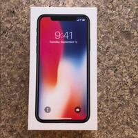 IPHONE X BRAND NEW SEALED W/INVOICE AND 1YR WARRANTY NEED GONE Vaughan
