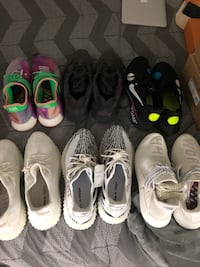 Size 11.5, 12 and 12.5 shoes Vancouver, V6T 0B3