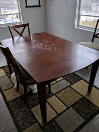 6 person table in need of TLC