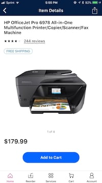 HP OfficeJet Pro 6978 All-in-One Wireless Printer with Mobile Printing Woodbridge, 22192