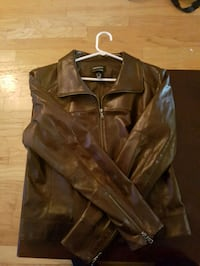 Brown Leather jacket brand new Toronto, M1V 2B4