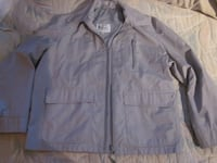 London Fog Grey Fall Cool Weather Men's Jacket - Size Large Winnipeg