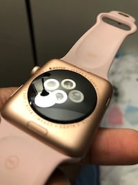 Rose gold 3rd gen apple watch Greenbelt, 20770