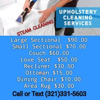 Carpet / Upholstery cleaning  Winter Park