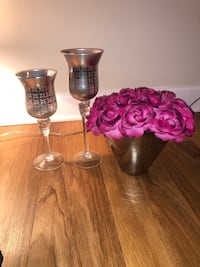 Faux flowers/vase and candle holders Alexandria, 22304