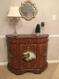 Brown wooden cabinet Gaithersburg, 20878